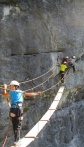 via ferrata aux Gets
