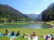lac Montriond colo arvel