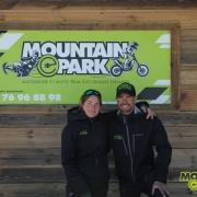 moto trial Moutain E-park