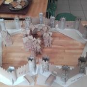 Classe Moyen-AGe Maquette chateau fort