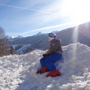 Classe montagne Neige ski