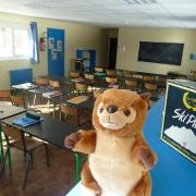 chalet ARVEL salle classe