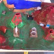 fabrication de volcan